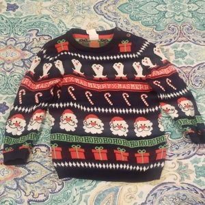 Baby boy Christmas sweater